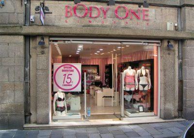 Agencement d'une boutique de lingerie à Saint-Malo